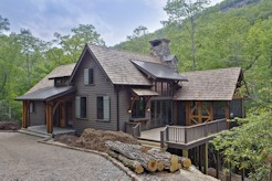 Custom Home in Lonesome Valley - Sapphire, NC