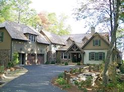 Custom Home in Mountain Top Golf and Lake Club