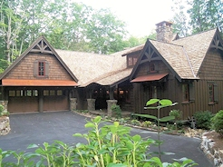 Custom Home in Mountain Top Golf and Lake Club by Sadlon & Associates