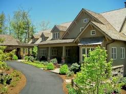 Custom Home in Mountain Top Golf and Lake Club, Cashiers, NC