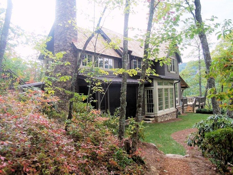 Custom Built Home In Lonesome Valley Sapphire Nc