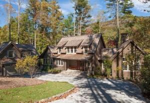 Custom Built Home by Sadlon and Associates in Sapphire, NC