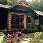 Sadlon & Associates Custom home in The Birches at Wildcat Cliffs, Highlands, NC