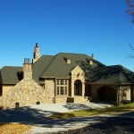 Luxurious residential home built at the prestigious mountain community of Highlands Cove in Highlands, NC by Sadlon and Associates, Inc.