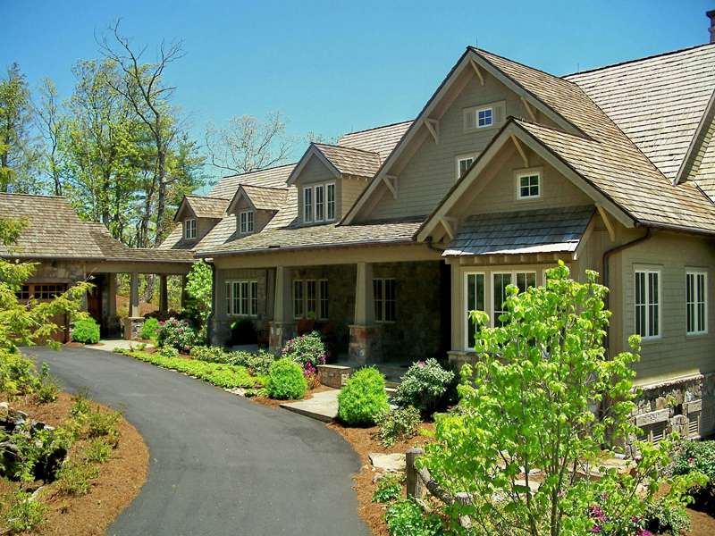 Luxury Homes in Mountain Top Golf and Lake Club Community- Cashiers NC by Sadlon and Associates, Inc.
