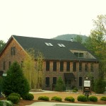 Beautiful mixed-use building in Downtown Highlands, NC by Sadlon and Associates, Inc.