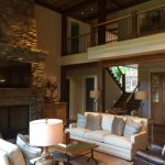 Sadlon & Associates Custom home in Mountaintop Golf and Lake Club, Cashiers NC, designed by Platt Architecture, Brevard, NC