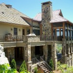 Custom Home in Mountain Top Golf and Lake Club, Cashiers, NC by Sadlon and Associates, Inc.
