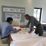 Spectacular new home underway in Mountaintop Golf and Lake Club, Cashiers NC. Design by Ryan Duffey, Architect - Atlanta, GA - #1712