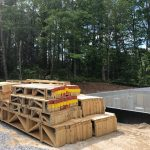 Spectacular new home underway in Mountaintop Golf and Lake Club, Cashiers NC. Design by Ryan Duffey, Architect - Atlanta, GA - #6289