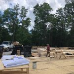 Spectacular new home underway in Mountaintop Golf and Lake Club, Cashiers NC. Design by Ryan Duffey, Architect - Atlanta, GA - #6631