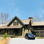 Sadlon and Associates built this wonderful cottage style home is tucked in at the base of Cow Rock in Lonesome Valley, Sapphire NC. - #5660