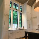 Custom home on Lake Glenville, NC, built by Sadlon and Associates & designed by Edgens Herzog Architects - #6515