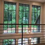 Custom home on Lake Glenville, NC, built by Sadlon and Associates & designed by Edgens Herzog Architects - #6564