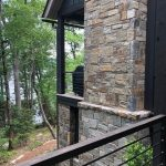 Custom home on Lake Glenville, NC, built by Sadlon and Associates & designed by Edgens Herzog Architects - #6518