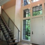Custom home on Lake Glenville, NC, built by Sadlon and Associates & designed by Edgens Herzog Architects - #6545