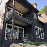Custom home on Lake Glenville, NC, built by Sadlon and Associates & designed by Edgens Herzog Architects - #6551