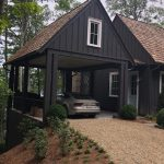 Custom home on Lake Glenville, NC, built by Sadlon and Associates & designed by Edgens Herzog Architects - #7577