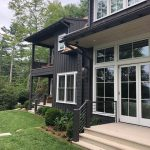 Custom home on Lake Glenville, NC, built by Sadlon and Associates & designed by Edgens Herzog Architects - #7592