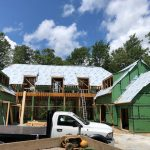 Spectacular new home underway in Mountaintop Golf and Lake Club, Cashiers NC. Design by Ryan Duffey, Architect - Atlanta, GA #8108