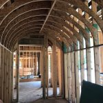 Spectacular new home underway in Mountaintop Golf and Lake Club, Cashiers NC. Design by Ryan Duffey, Architect - Atlanta, GA #8807