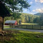 Barn-to-Home Renovation on a Picturesque Horse Farm in Secluded Tessentee near Franklin, NC - #1