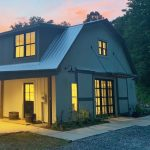 Barn-to-Home Renovation on a Picturesque Horse Farm in Secluded Tessentee near Franklin, NC - #32