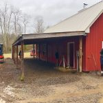 Barn-to-Home Renovation on a Picturesque Horse Farm in Secluded Tessentee near Franklin, NC - #5