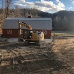 Barn-to-Home Renovation on a Picturesque Horse Farm in Secluded Tessentee near Franklin, NC - #6