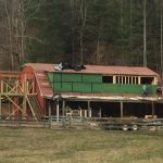 Barn-to-Home Renovation on a Picturesque Horse Farm in Secluded Tessentee near Franklin, NC - #7