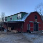 Barn-to-Home Renovation on a Picturesque Horse Farm in Secluded Tessentee near Franklin, NC - #9