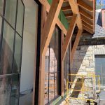 Spectacular new home underway in Mountaintop Golf and Lake Club, Cashiers NC. Design by Ryan Duffey, Architect - Atlanta, GA - #34