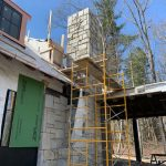 Spectacular new home underway in Mountaintop Golf and Lake Club, Cashiers NC. Design by Ryan Duffey, Architect - Atlanta, GA - #35