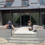 Spectacular new home underway in Mountaintop Golf and Lake Club, Cashiers NC. Design by Ryan Duffey, Architect - Atlanta, GA - #39