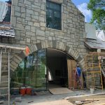 Spectacular new home underway in Mountaintop Golf and Lake Club, Cashiers NC. Design by Ryan Duffey, Architect - Atlanta, GA - #42