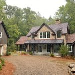 Quintessential Farm House including a unique guest house. Located in Lonesome Valley, Sapphire, NC by Sadlon and Associates Home Builder - #26